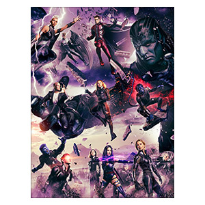 X-Men. Размер: 30 х 40 см